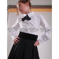 Блуза с манишкой