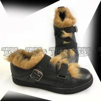 Туфли c мехом