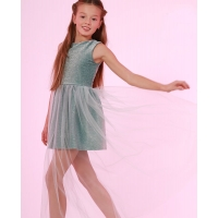 Нарядное платье с люрексом